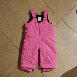 Children's Place Pink Snowsuit Overalls